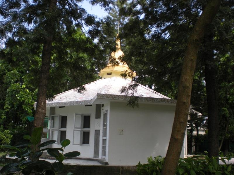 Dhamma hall at dhamma dhaja centre